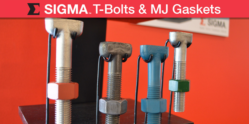 T-Bolts MJ Gaskets