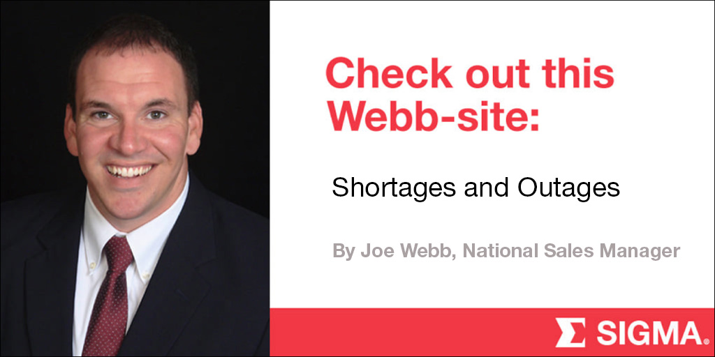 Shortages and Outages
